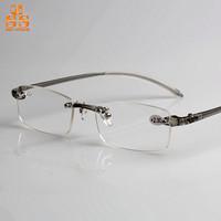 Limited Sales Classic Design Rimless Resin Presbyopic Glasses,High Grade Unisx  Anti Fatigue Super Light Lentes Para Leer, G387