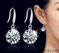 925 sterling silver earrings , 925 silver fashion jewelry , 8MM 10MM /dbpalswa frzaojga E153