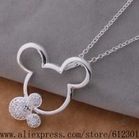 925 sterling silver Necklace 925 silver fashion jewelry pendant  /fhranyya brsakiza P360