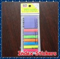 [FORREST SHOP] School Bookmark Sticker / Post It Sticker / Mini Memo Pad Sticky Notes / Kawaii Index Tab Stickers WLT-8934