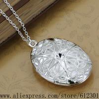 925 sterling silver Necklace 925 silver fashion jewelry pendant Pierced /fgsanxza bqtakiaa P334