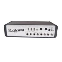 M-AUDIO m audio M-Track Quad 4 I/O 4 input/output Professional USB interface external Sound Card