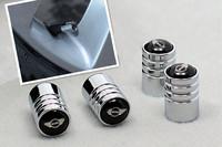 Free Shipping Mini aluminum alloy tire valve caps, with 3D crystal badge tire valve stem, 4pcs/set Mini cooper