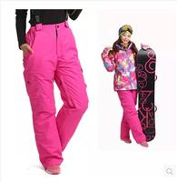 2014 free shipping new fashion women outdoor pants winter warm snow pants ski pants for women climbing pants