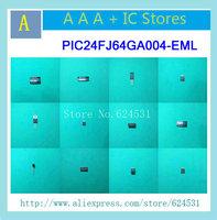 3PCS PIC24FJ64GA004-EML 16BIT 64KB 44QFN PIC24FJ64GA004 24FJ64G PIC24FJ64GA 24FJ64GA PIC24FJ64