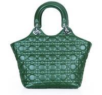 2014 Winter new Women classic plaid handbags tote genuine leather elegant bags girls bag shoulder bag