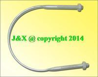 Galvanized U-shaped U-shaped hoop hoop spot a variety of customized U- hoop