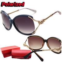 Sunglasses women brand designer High quality Plate Pierced Diamond Big frame Leopard head Polarized Sun glasses Eyeglasses KA605