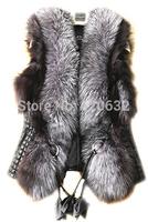 Crazy Discount 2014 New Fashion Winter Sleeveless Warm fur coat Women Faux Fur Vest fur Jacket Waistcoat Coat Plus size 3XL