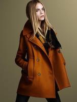 2014 winter coat women Wholesale & Retail Women's wool Coat With Good Quality Plus Size XL women's long wool winter coats 191