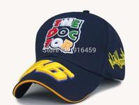 2014 the doctor Vr46 Rossi Blue black yellow F1 racing cap Baseball cap Motor gp Motorcycle snapback Sport outdoor Drop shipping