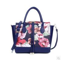 Flower printing Woman bags fashion 2014 designers handbags high quality Women handbag shoulder bag handbags women Messenger bag