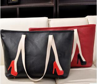 2014 New Fahion women handbag casual shoulder bag vintage messenger bags high heels handbags free shipping(China (Mainland))