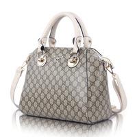 2014 new wave of women's singles shoulder bag kangaroo Yearcon texture PU leather women handbag clearance
