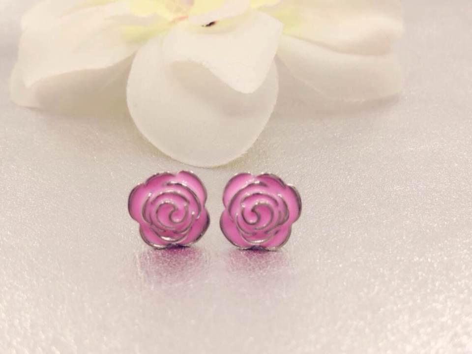 Pink Earrings For Girls   Earrings Beautiful pink