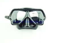 spearfishing black diving mask M223
