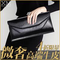 2014 new European and American fashion handbags Shoulder Messenger bag large capacity clutch small leather handbag Korean versio