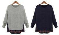 2014 New  Women Fashion Long Cardigans Women Long Sleeve Outerwear Cardigan Plus Size Europe Women Clothing Sweaters --H971