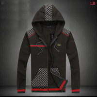 2014 Autumn brand Mens sport jackets,casual outdoor Sportwear,baseketball suit, size M-3XL+ Free Shipping