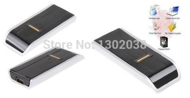Security Biometric Scanner Fingerprint USB Reader Password Lock For Laptop PC Computer Support Windows 2000/XP/Vista/win7(China (Mainland))
