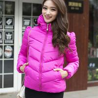 Free shipping brand Winter coat dress short down cotton padded slim Korean new cotton padded jacket fashion big code thickening