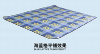Outdoor picnic mat, tent pad, dampproof mat, flocking cushion, thickened section, leisure and tourism use
