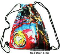 ddf44 England Britain National Flag Union Jack Drawstring Bag Backpacks Backpack for Travelling / School / Leisure Life