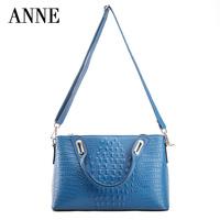 ANNE Anne handbags new leather shoulder bag Shoulder Messenger bag new Korean version of casual ladies handbag