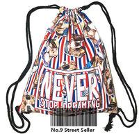fr55t6rr5 England Britain National Flag Union Jack Drawstring Bag Backpacks Backpack for Travelling / School / Leisure Life