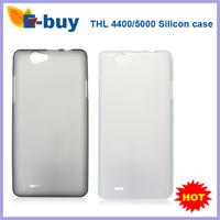 100% Original Protective Silicon Back Cover Case For THL5000 /4400 Smartphone