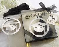 2014 best graduate cap bookmark with Elegant black tassel graduation party favor gifts guest souvenirs keepsakes