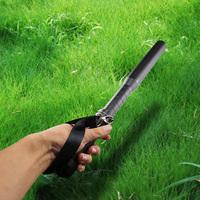 metal long spiked safety flashlight Baseball bat torch CREE LED high bright  flashlight shocker self defense lanterna led tatica