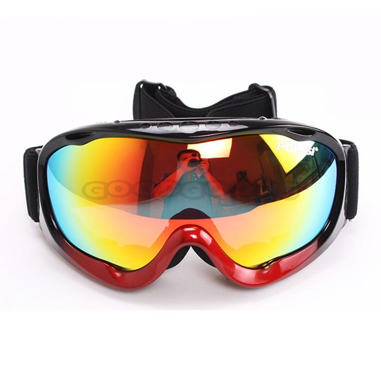 Wholesale New 2016 POLISI Winter Outdoor Sports Snowboard Protective Glasses Snow Ski Goggles Polarized An ...