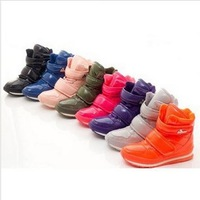2014 new fashion Genuine Duck women boots lady light and warm winter shoes cotton-padded casual multicolor snow boots