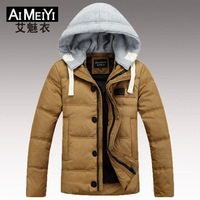 Men's Winter Warm Jacket Down Coat Fashion Outdoor 2014 Hot Sale New