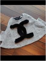 [retail]2014 autumn winter hot sale girls fashion fur coat kids gray  cloak 1101