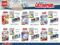 wholesale JLB Ultraman Minifigures plastic Building Blocks Sets Toys Figure Bricks action toys for kids