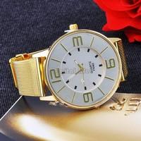 New Style simple easy read men ladies watch gift women'scasual quartz watch wrist watch women dress watches golden SV18 SV000358