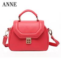 2014 summer new wave of portable shoulder diagonal leather handbags Korean version of the European and American vintage bag A4