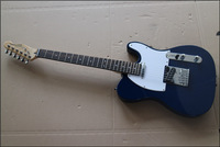 Chinese Glisten new blue electric guitar  free shipping  t54