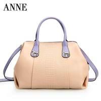 Handbags leather handbags 2014 new winter fashion leather crocodile pattern shoulder diagonal bag lady