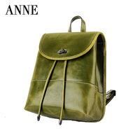 Handbag shoulder bag Korean version of the influx of multi-functional  College Wind oil wax leather