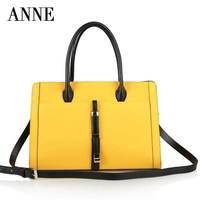 European and American Korean female bag leather handbags 2014 new winter influx of women cross pattern portable shoulder