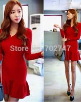 autumn outfit South Korea act as purchasingAutumn and winter dress