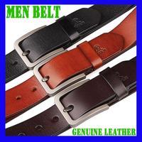 2014 Mens Belts Luxury Men's Belts Fashion Leather Alloy Pin Buckle Belt for Men Factory Direct Sales Guaranteed 100% Genuine
