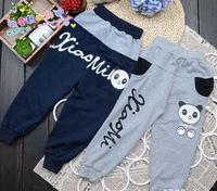 The new panda leisure trousers Children in the autumn of leisure han edition K13.6