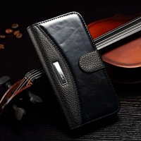 """New Crazy Horse Top Quality Retro PU Leather Case For iPhone 6 4.7"""" Wallet With Stand Flip Phone Bag Cover Black Brown Red White"""