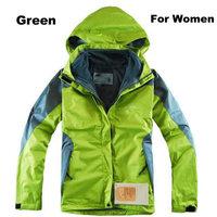 High Tech Nylon Materials Women's Winter Outdoor Skiing Jackets Two-piece/ S-XXL Waterproof Breathable Warm Sportswear /A400