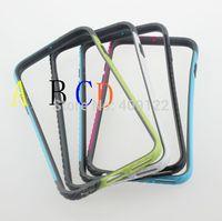 Fedex 100pcs Ultra Thin three Colorful TPU+PC Bumper For Apple iPhone 6 frame 4.7 inch Fashion design,pt03i611