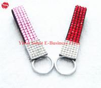 Free shipping Metal keychain promotional gifts crystal rhinestone key chain fashion keyring